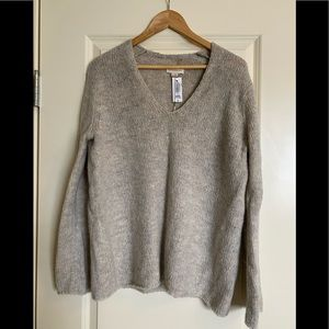 Aritzia Golden TNA Denning Sweater